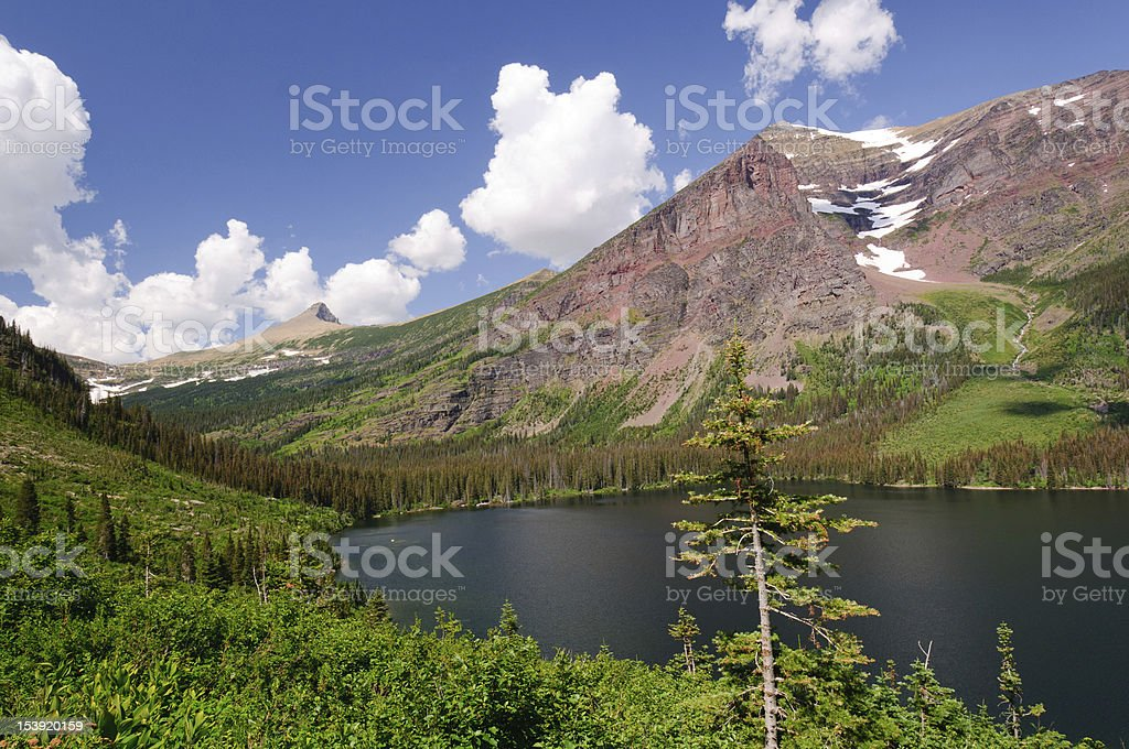 Summer in the Mountain West royalty-free stock photo