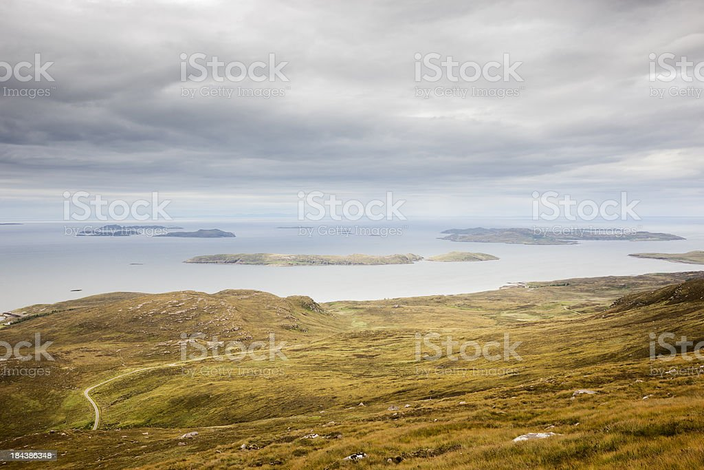 Summer Isles stock photo