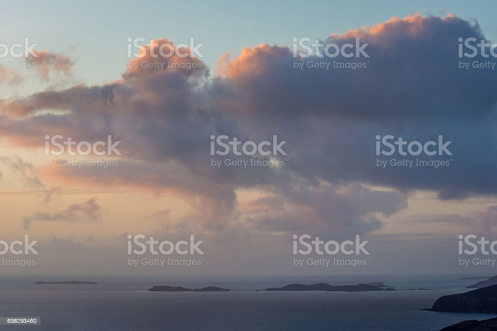 Summer Isles Twilight stock photo