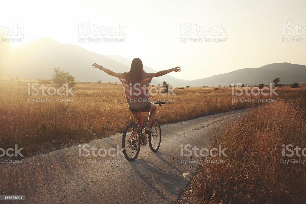 summer joyride stock photo