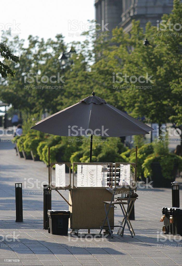 Summer Kiosk royalty-free stock photo