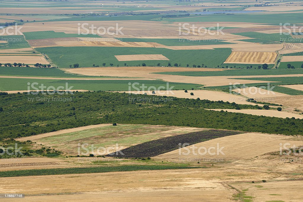 Summer landscape from Bulgaria stock photo