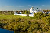 Summer landscape in Suzdal