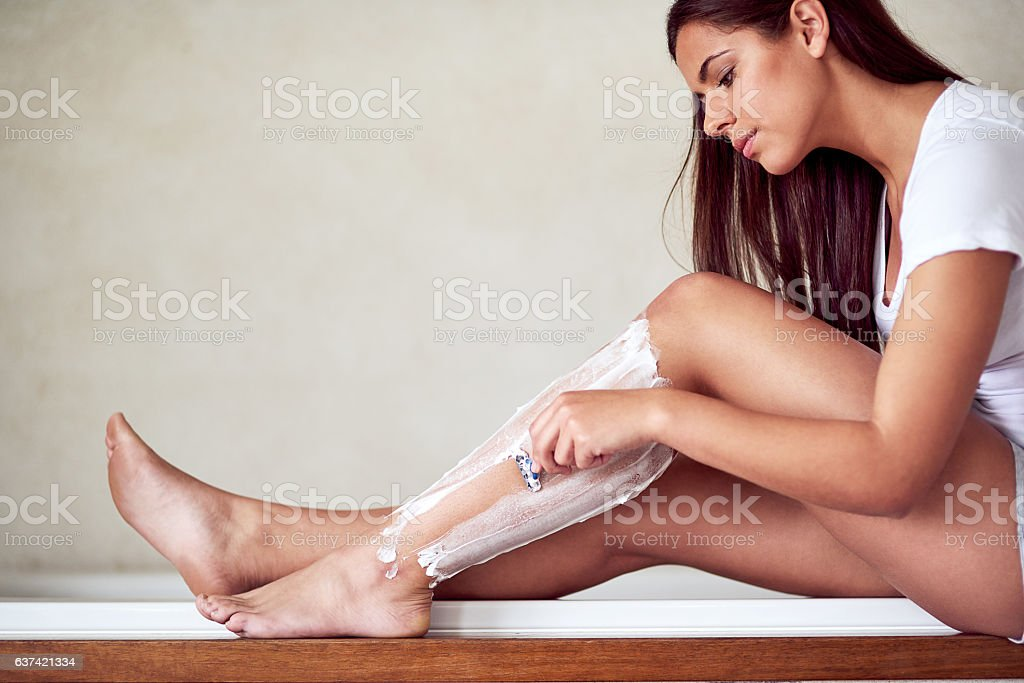 Summer legs, here I come stock photo