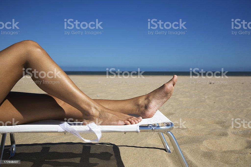 Summer Legs royalty-free stock photo