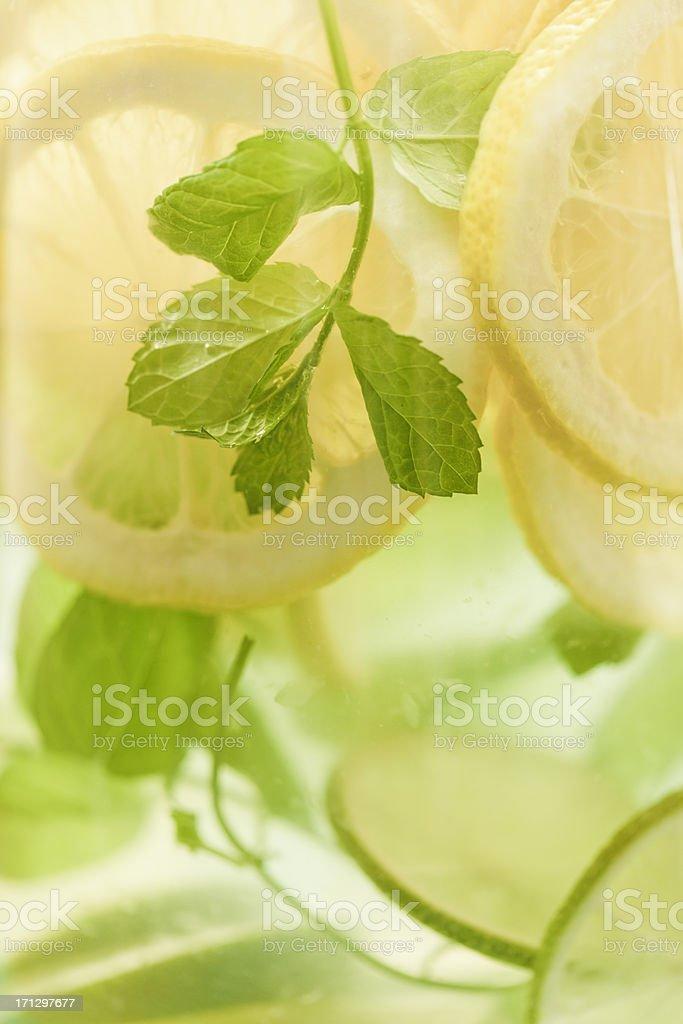 Summer Lemonade royalty-free stock photo