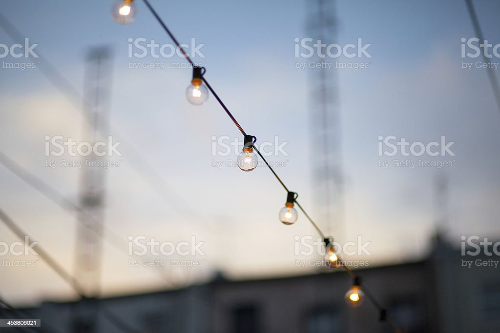 Summer Lights stock photo
