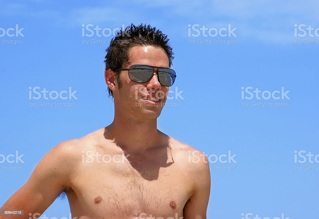 Summer Lookout royalty-free stock photo