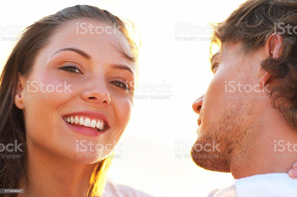 Summer love and sunshine stock photo