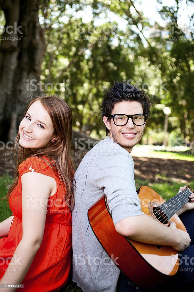 Summer Love royalty-free stock photo
