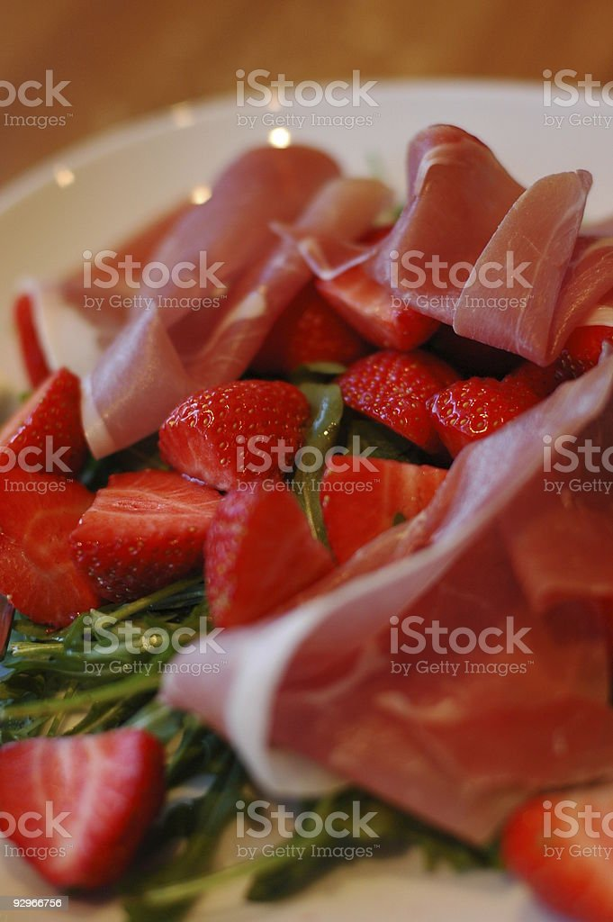 Summer meal royalty-free stock photo