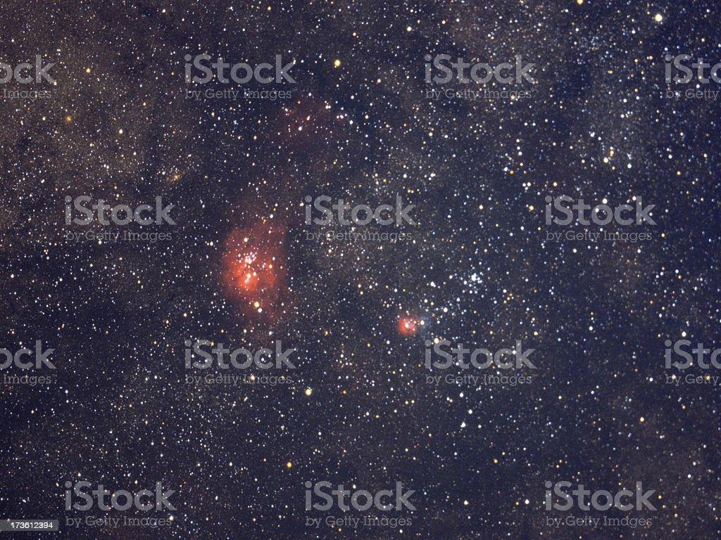 Summer Milky Way - Sagittarius royalty-free stock photo
