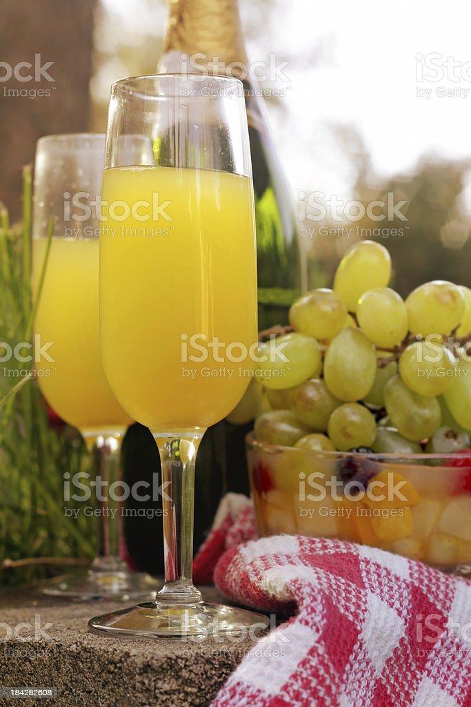 Summer Mimosas royalty-free stock photo