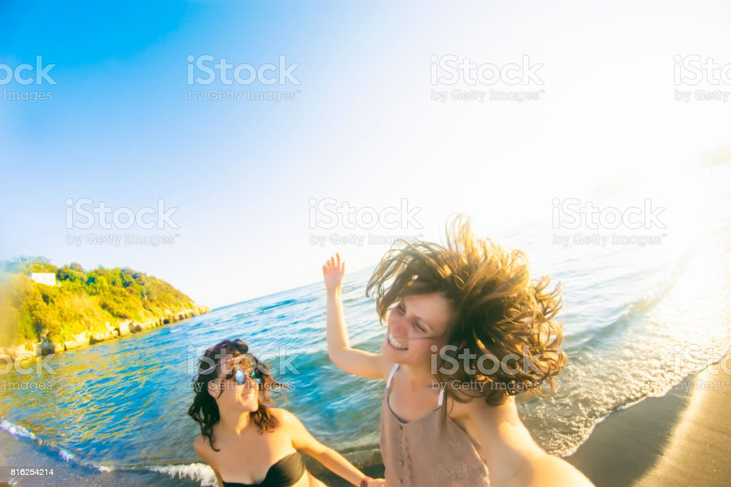 Summer moments stock photo