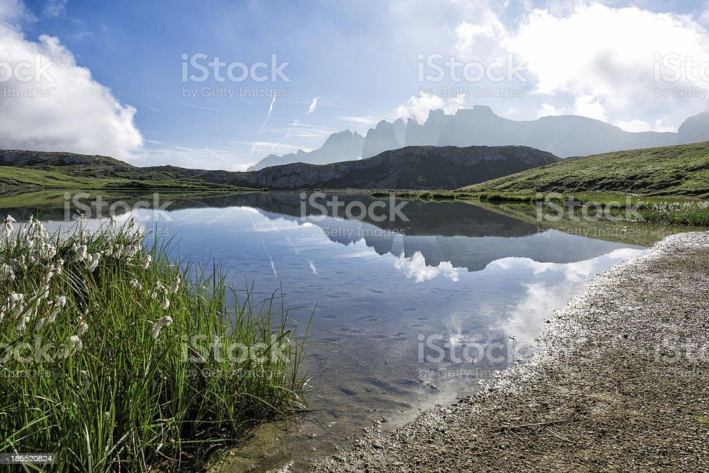 Summer mountain landscape - Dolomites, Italy royalty-free stock photo