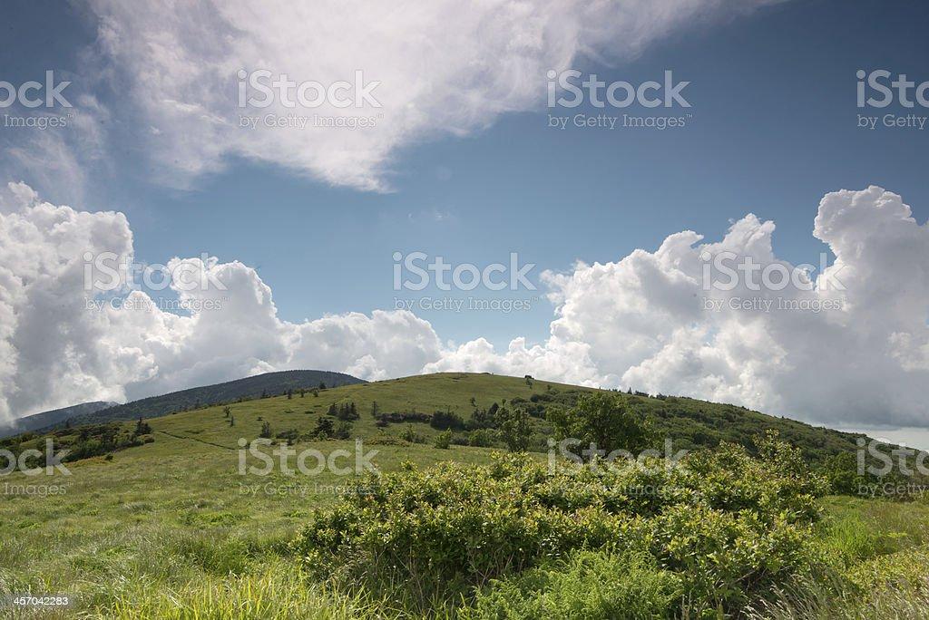 Summer Mountain stock photo
