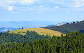 Summer mountain view (Carpathian, Ukraine).