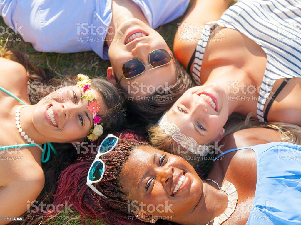 Summer Music Festival stock photo