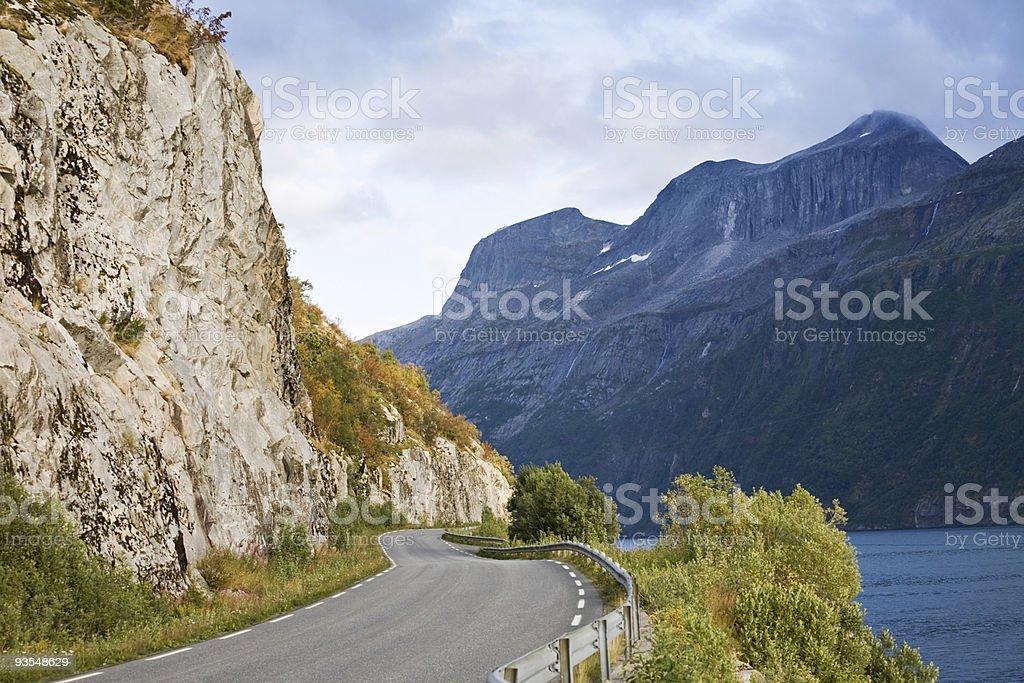 summer norwegian landscape royalty-free stock photo