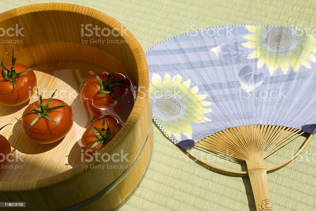 Summer of Japan stock photo