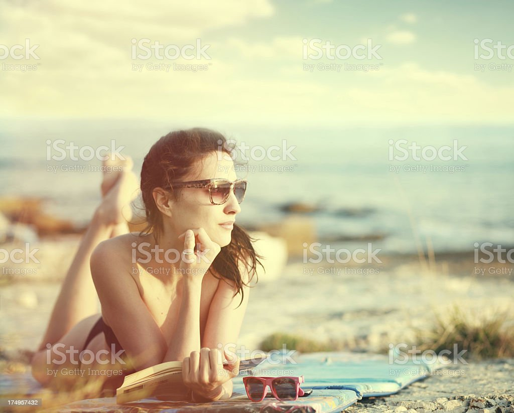 Summer of the 70s royalty-free stock photo