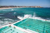 Summer on Bondi Beach, Australia