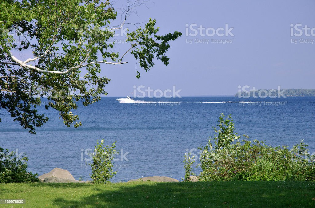 Summer on the Lake royalty-free stock photo