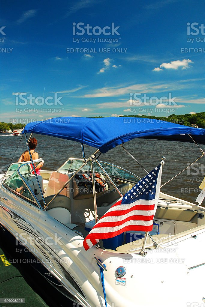 Summer on the Lake stock photo