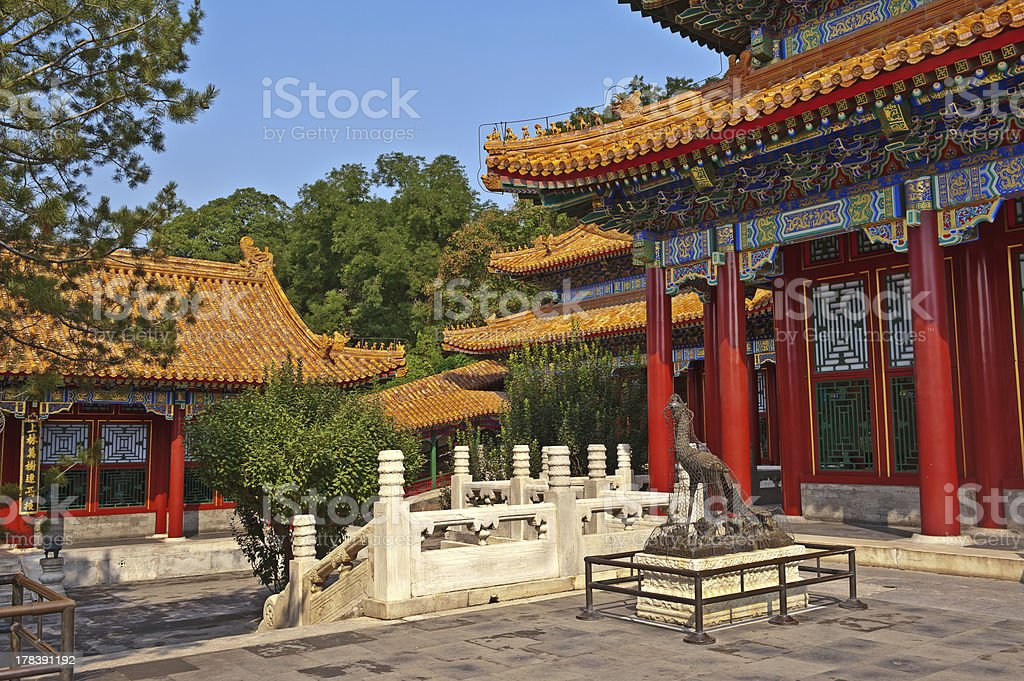Summer Palace, Beijing China stock photo