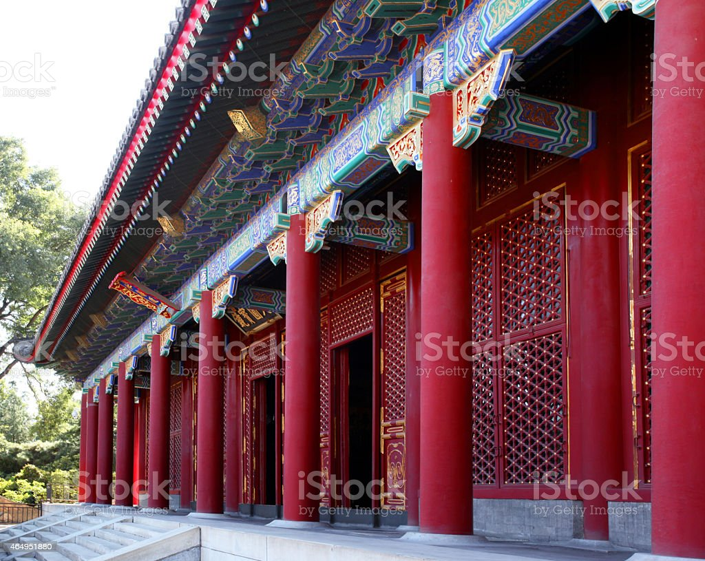 Summer Palace.  Beijing, China. stock photo