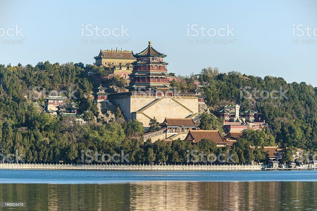 Summer Palace, Beijing royalty-free stock photo