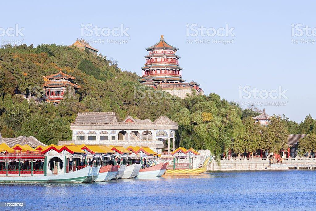 Summer Palace, Beijing stock photo