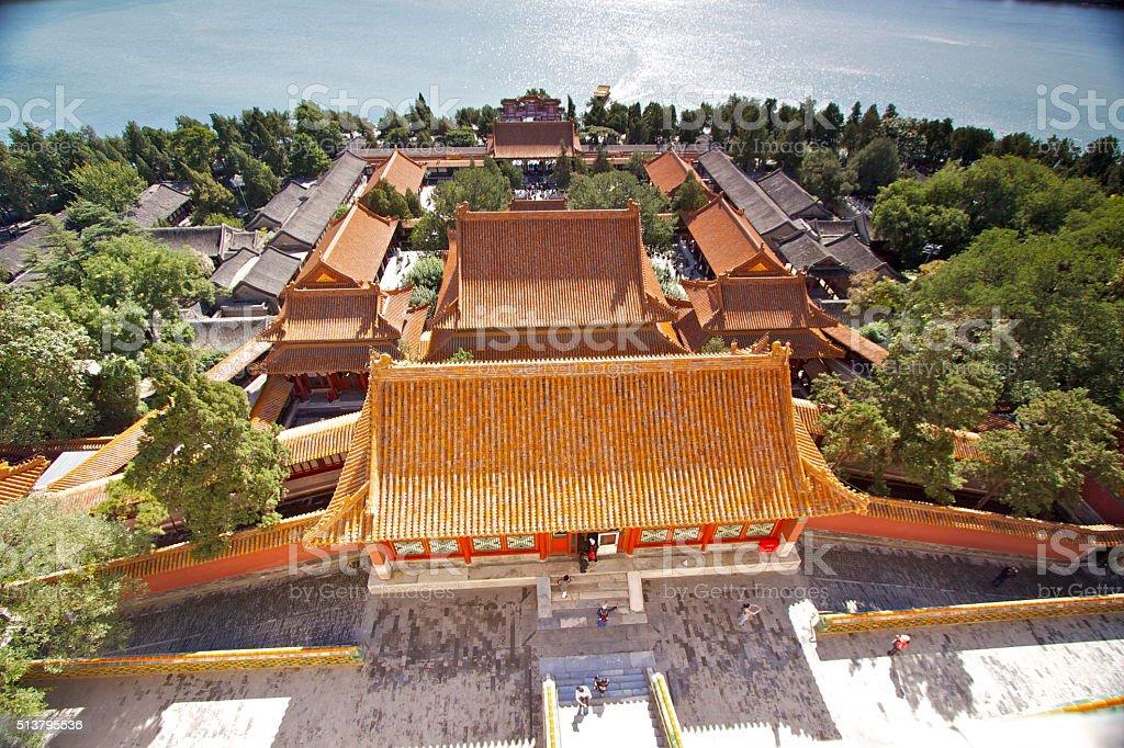 Summer Palace, Beijing. stock photo