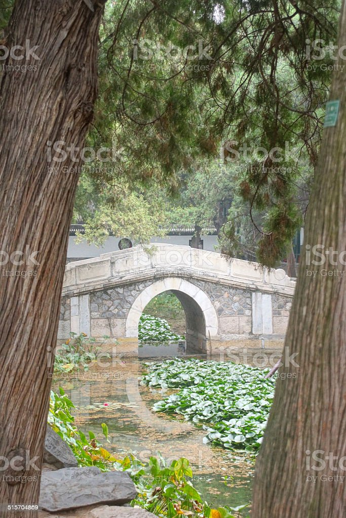 Summer palace - Garden stock photo