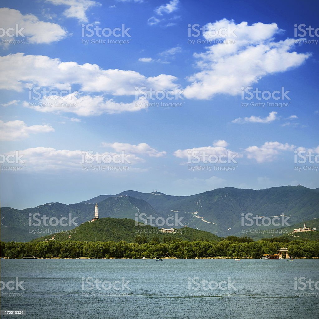 Summer Palace in Beijing china royalty-free stock photo