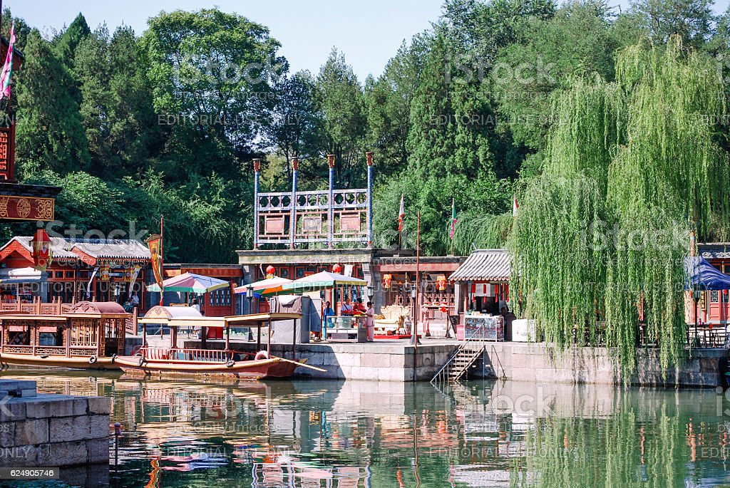 Summer Palace in Beijing stock photo
