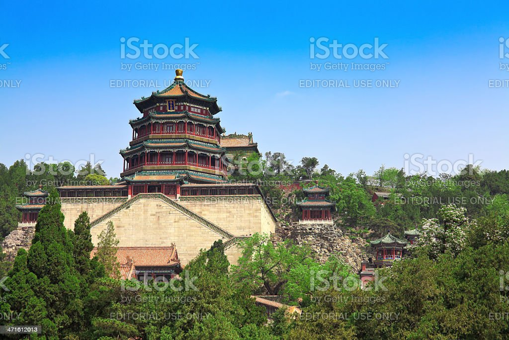 Summer Palace Temple royalty-free stock photo