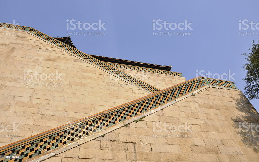 Summer Palace, Tower of Buddhist Incense in Beijing, China stock photo