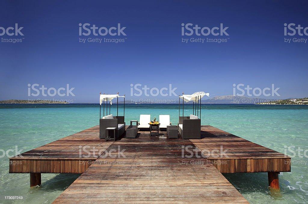 Summer Paradise stock photo