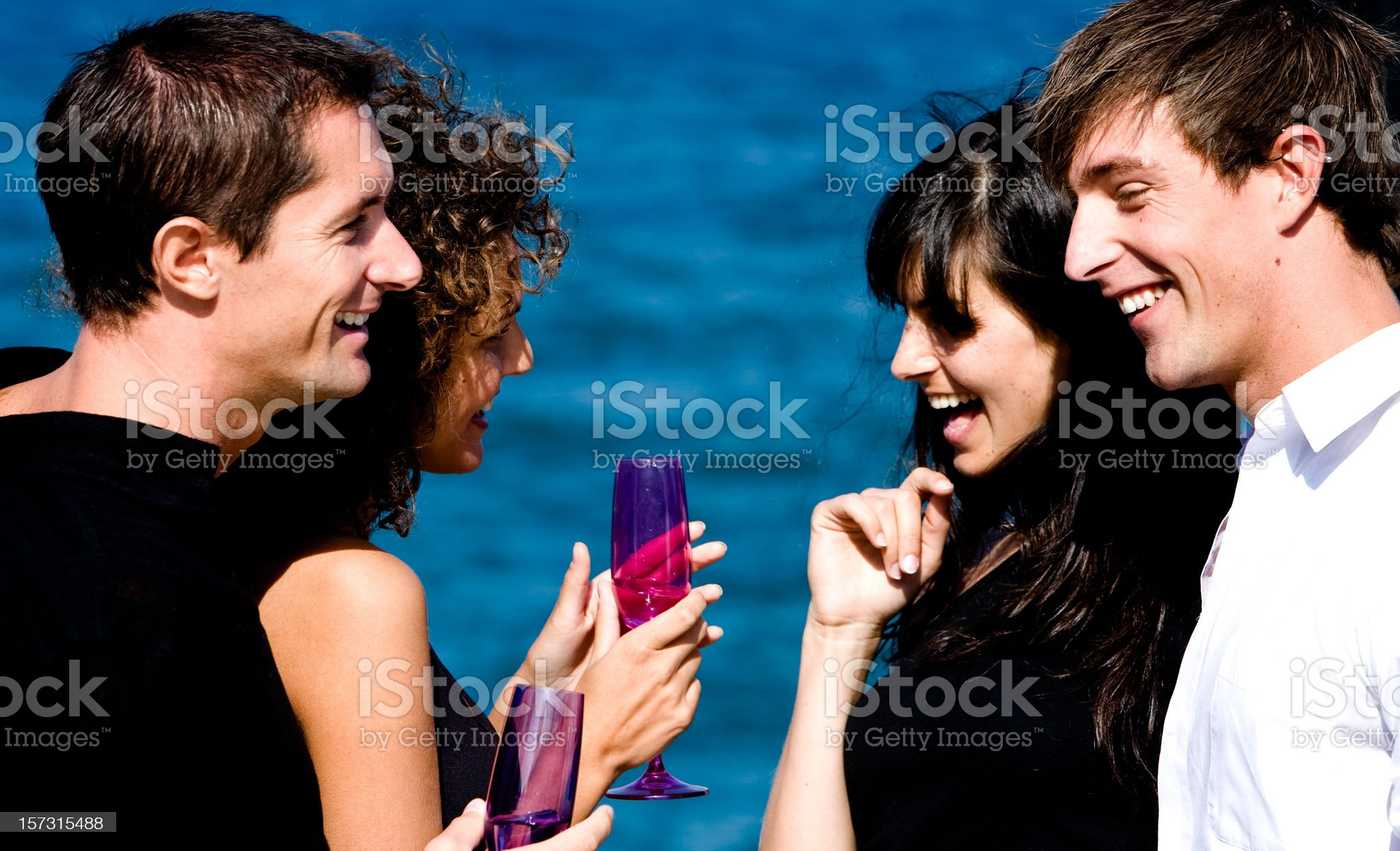 Summer Party royalty-free stock photo