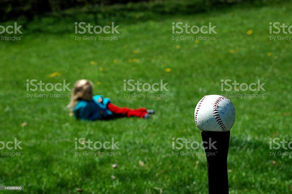 Summer Pastime stock photo