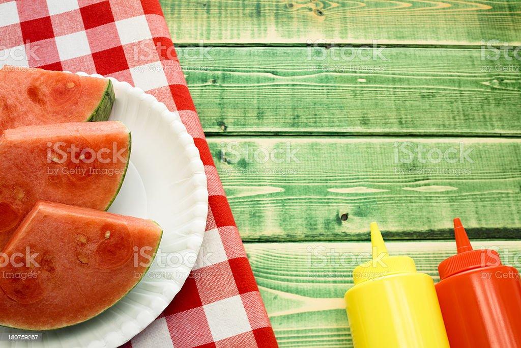 Summer Picnic royalty-free stock photo