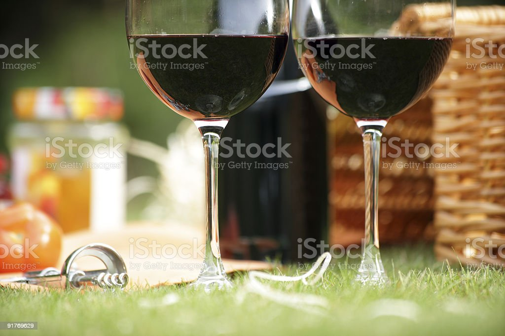Пакет услуг «Summer picnic Стоковые фото Стоковая фотография