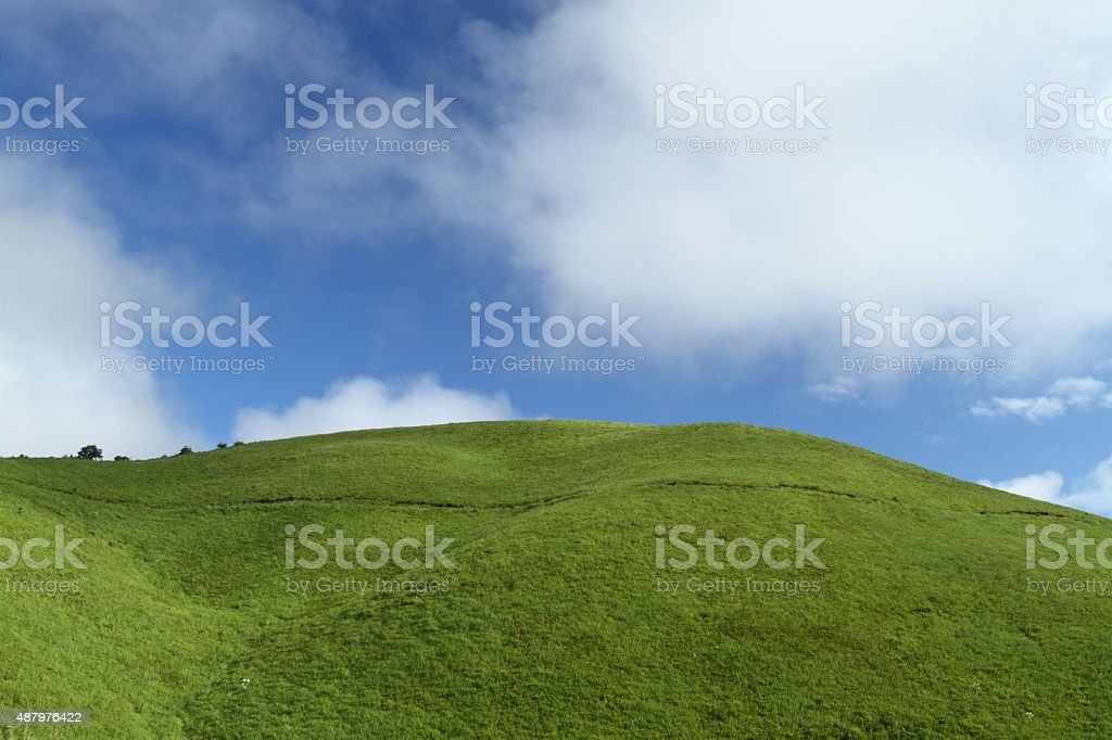 Summer plateau stock photo