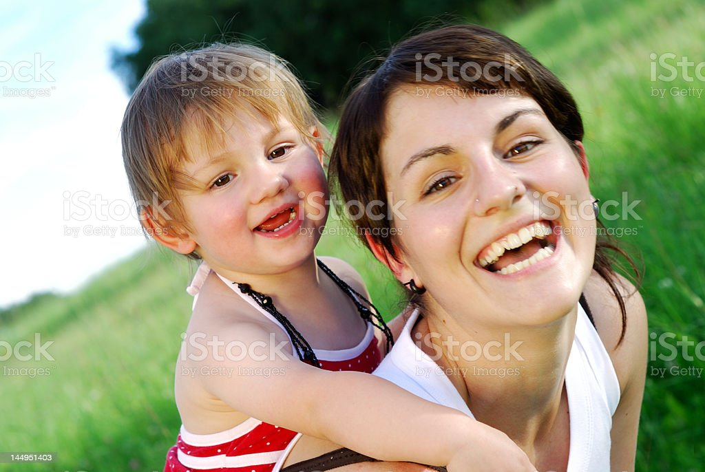 Summer Portrait stock photo