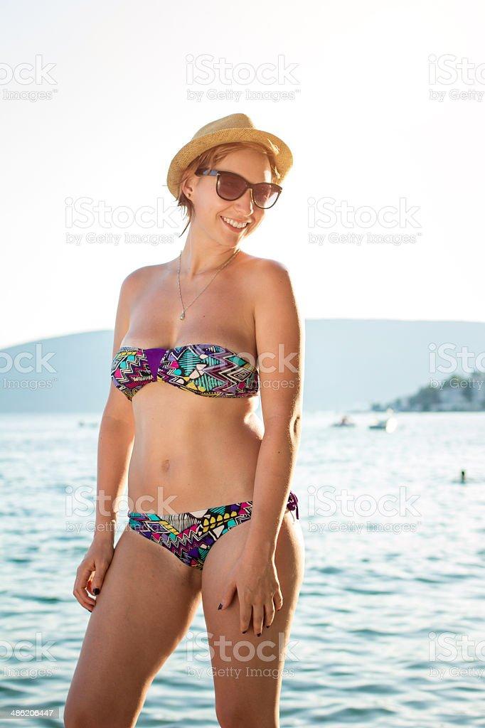 Summer portrait royalty-free stock photo