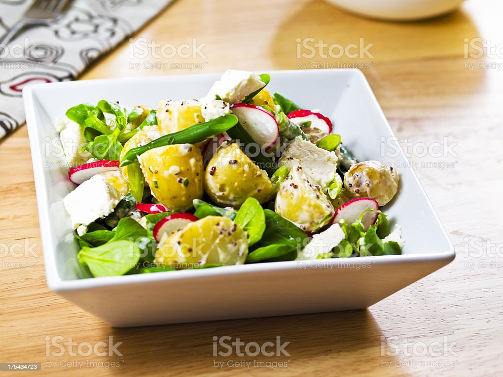 Summer Potato salad stock photo