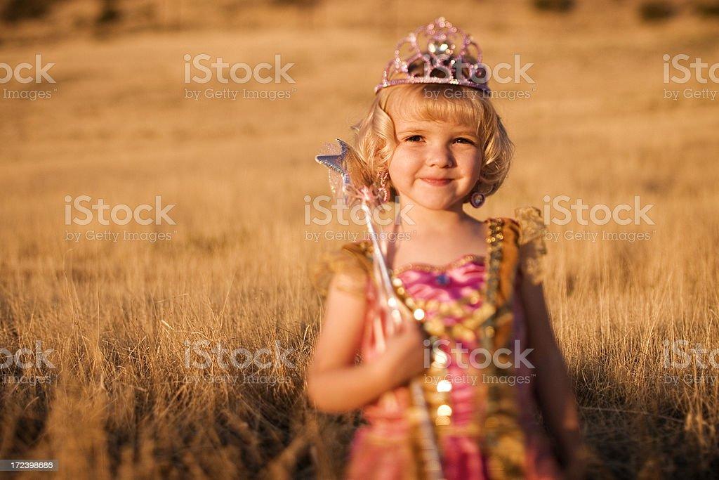 Summer Princess royalty-free stock photo
