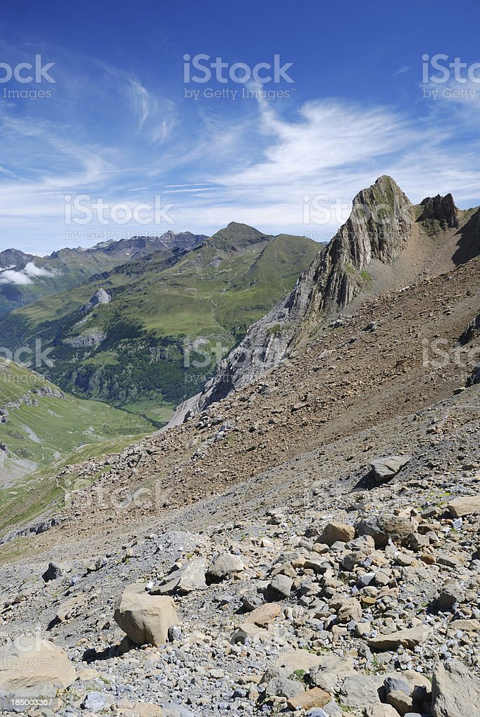 Summer Pyrenees. royalty-free stock photo