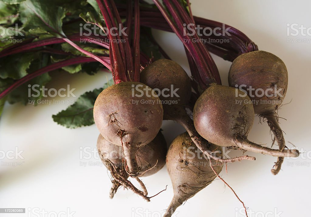 Summer Red Beets royalty-free stock photo